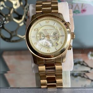 Michael Kors Gold Stainless Steel Watch